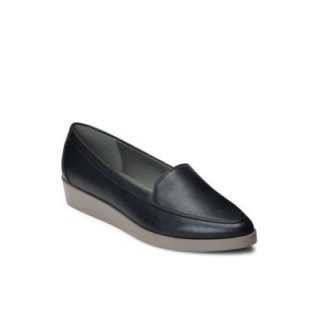 A2 by Aerosoles Young Ladies Clever Wedge Loafer Black New Season OHGI399