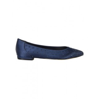 A.P. TOO Ladies Glimmer Navy Silk Pump NAVY SILK Most Comfortable Spring And Winter OUAIIVN