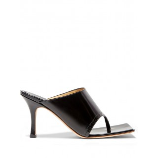 A.W.A.K.E. Mode Womens Katie 75mm square-toe sandals Size 11 New Arrival YRIC601