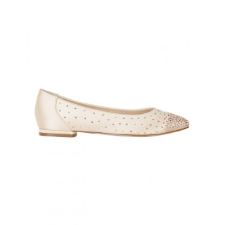 A.P. TOO Young Ladies Glimmer Blush Silk Pump BLUSH SILK Most Comfortable Spring And Winter YKJBCXY